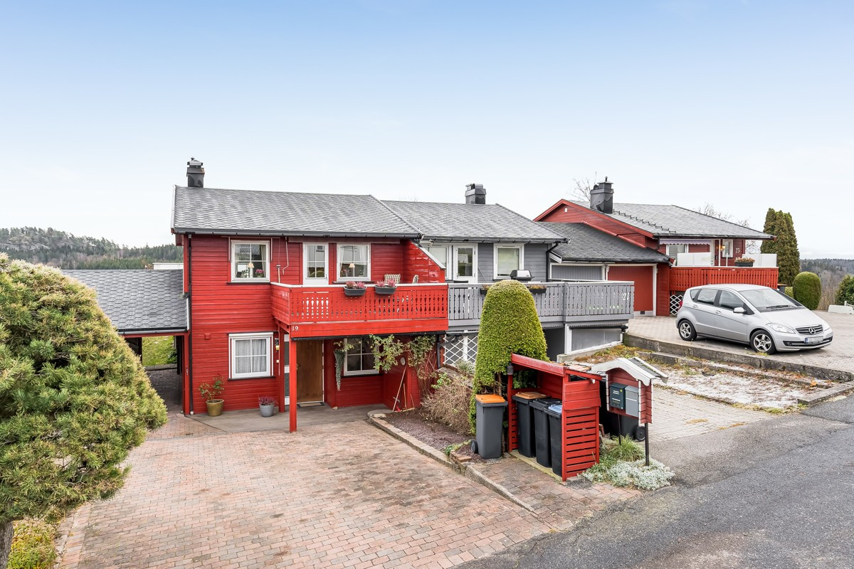 Rekkehus - larvik - 2 250 000,- - Leinæs & Partners