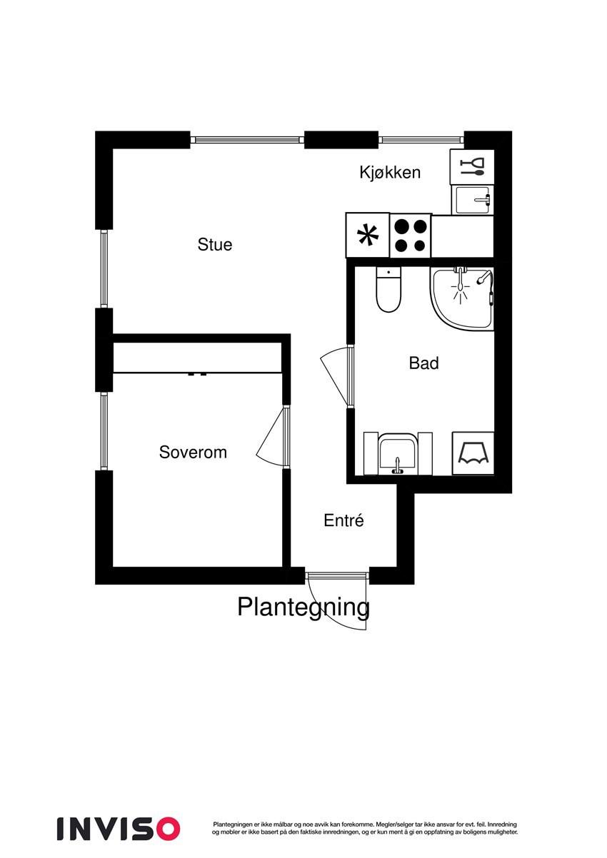 Planskisse 2D