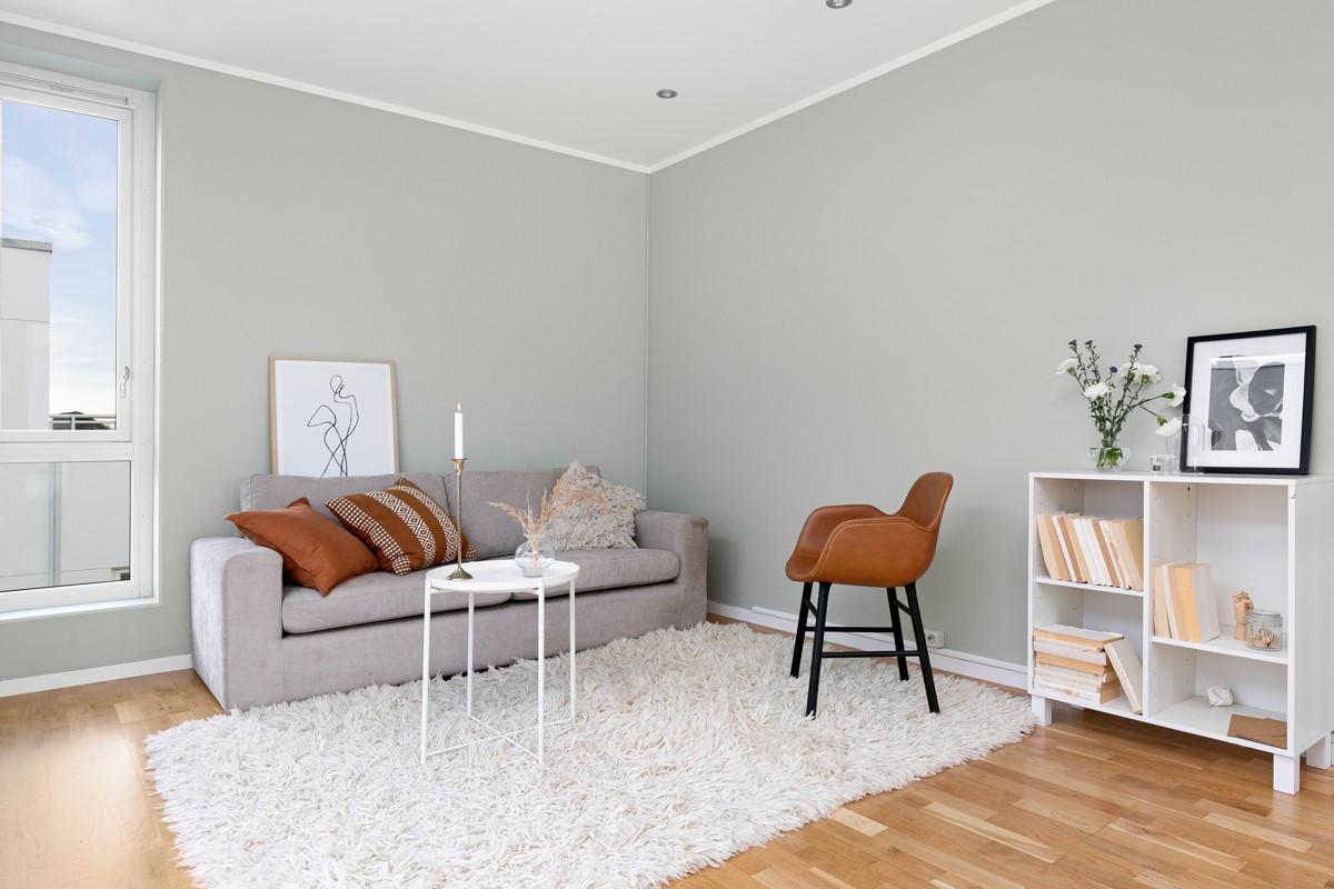 Loftstue - del av loftstuen kan enkelt gjøres om til et eller to ekstra soverom