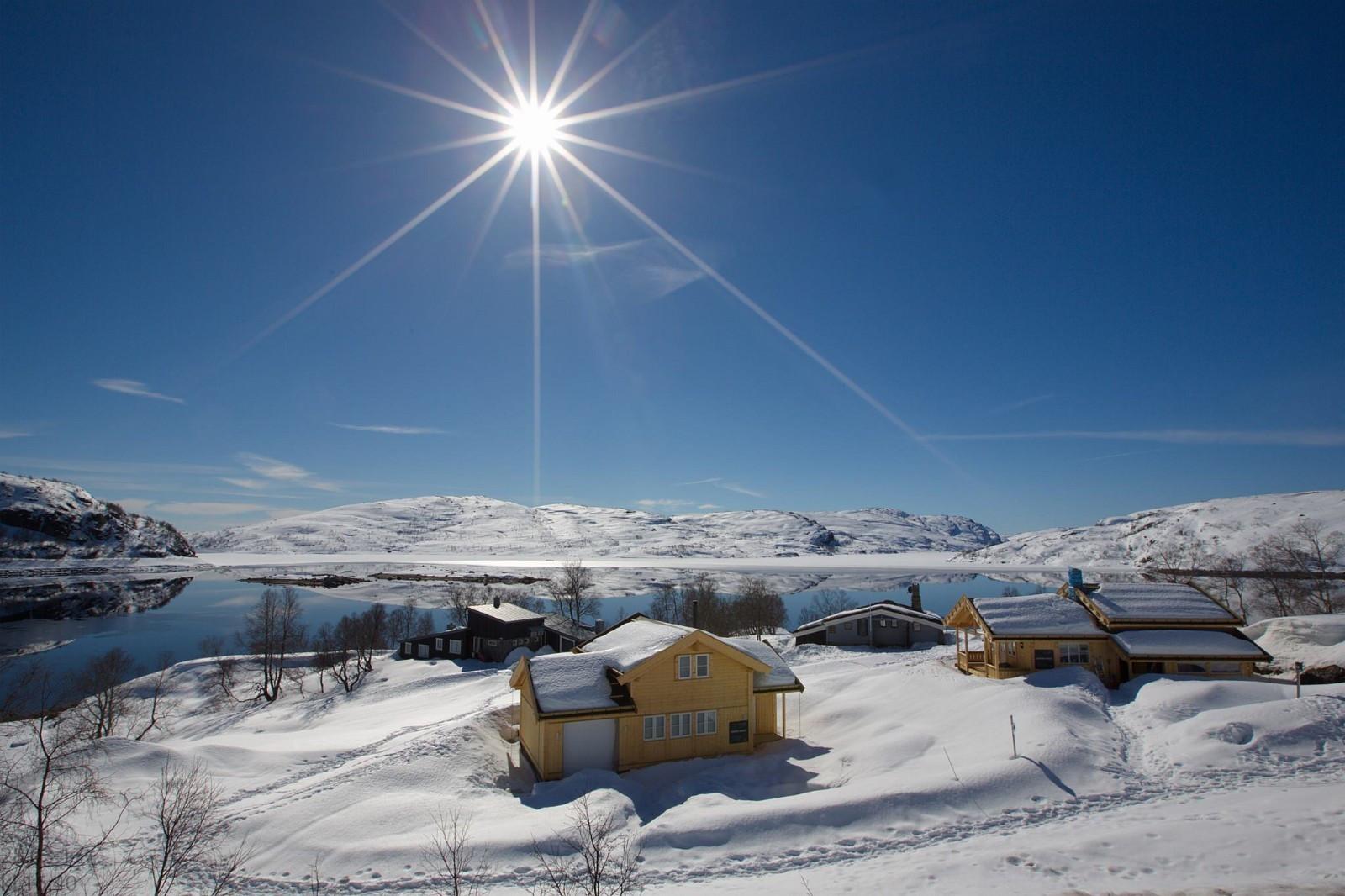 Fra Gravasstølen- utsikt