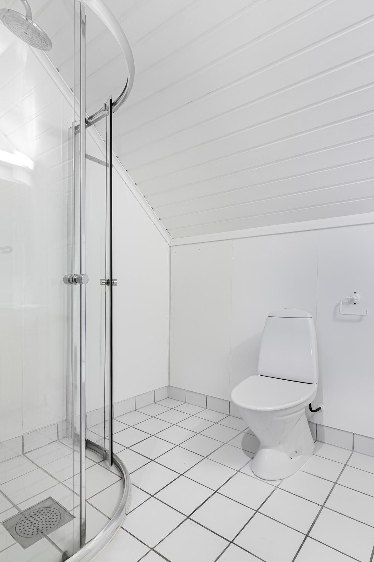 Flislagt bad med gulvvarme i 2. etasje