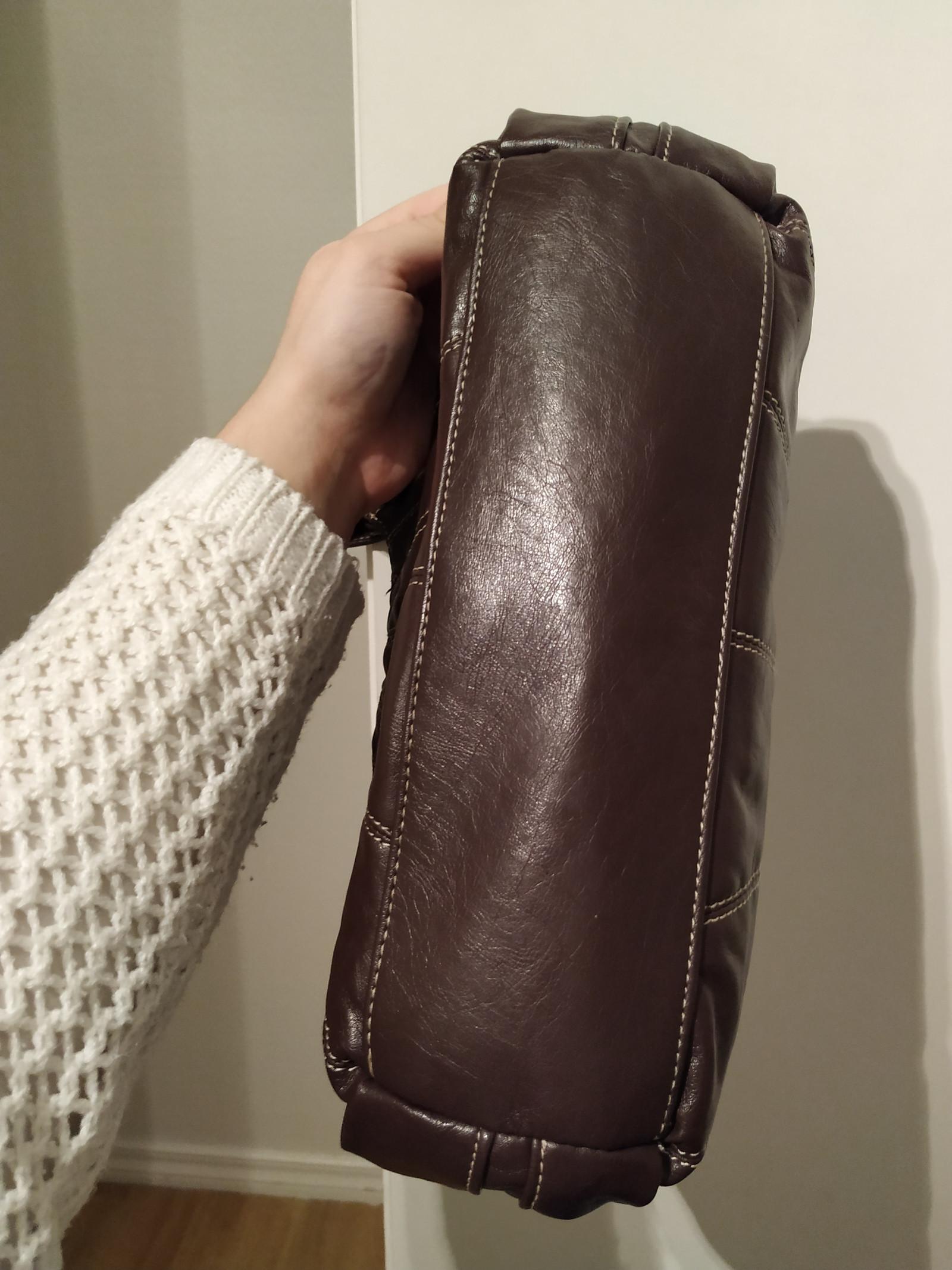 NY PRIS! Daniel Ray brun håndveske | FINN.no