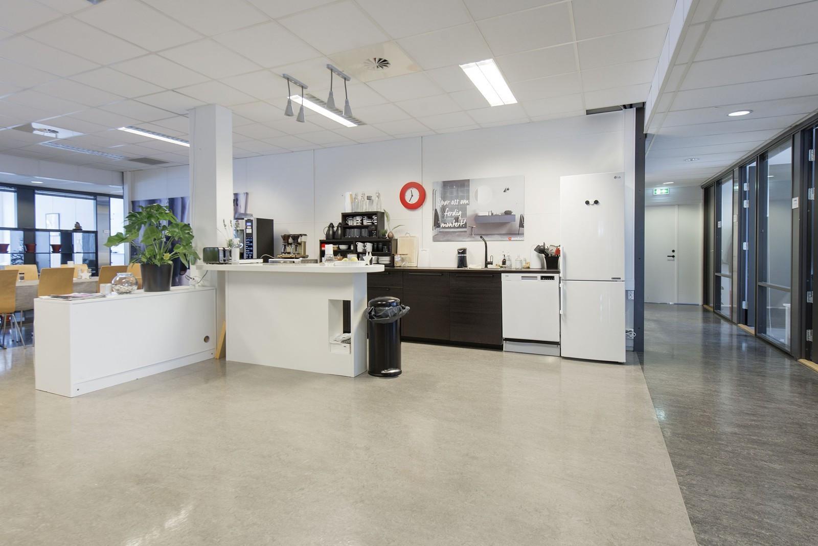 Fellesareal / kaffemaskiner / minikjøkken