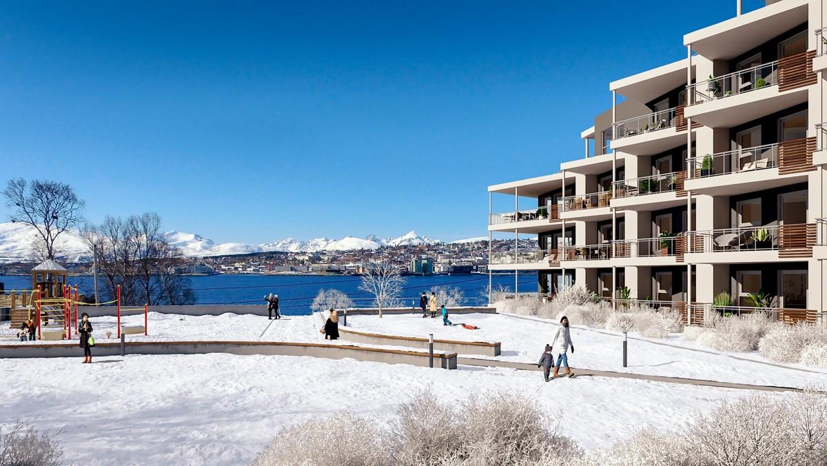 Velkommen til Solsia Park - Moderne 3-roms leilighet med høy standard og flott utsikt!