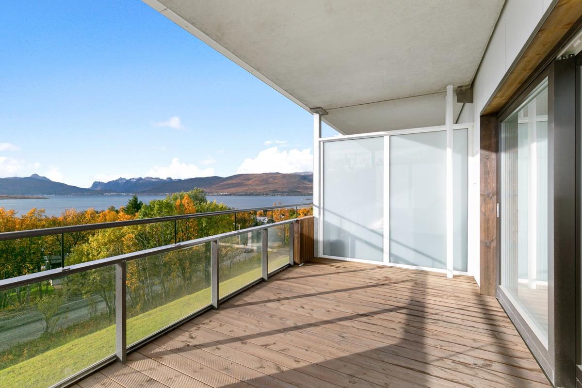 Balkong med flott utsikt