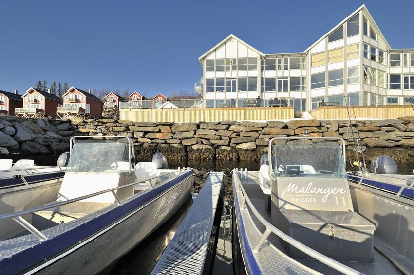 Store muligheter for fritidsaktiviteter med blant annet båtutleie på hotellet