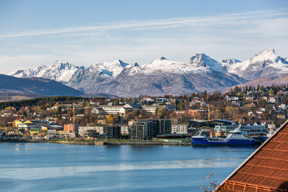 Utsikt mot Tromsøya