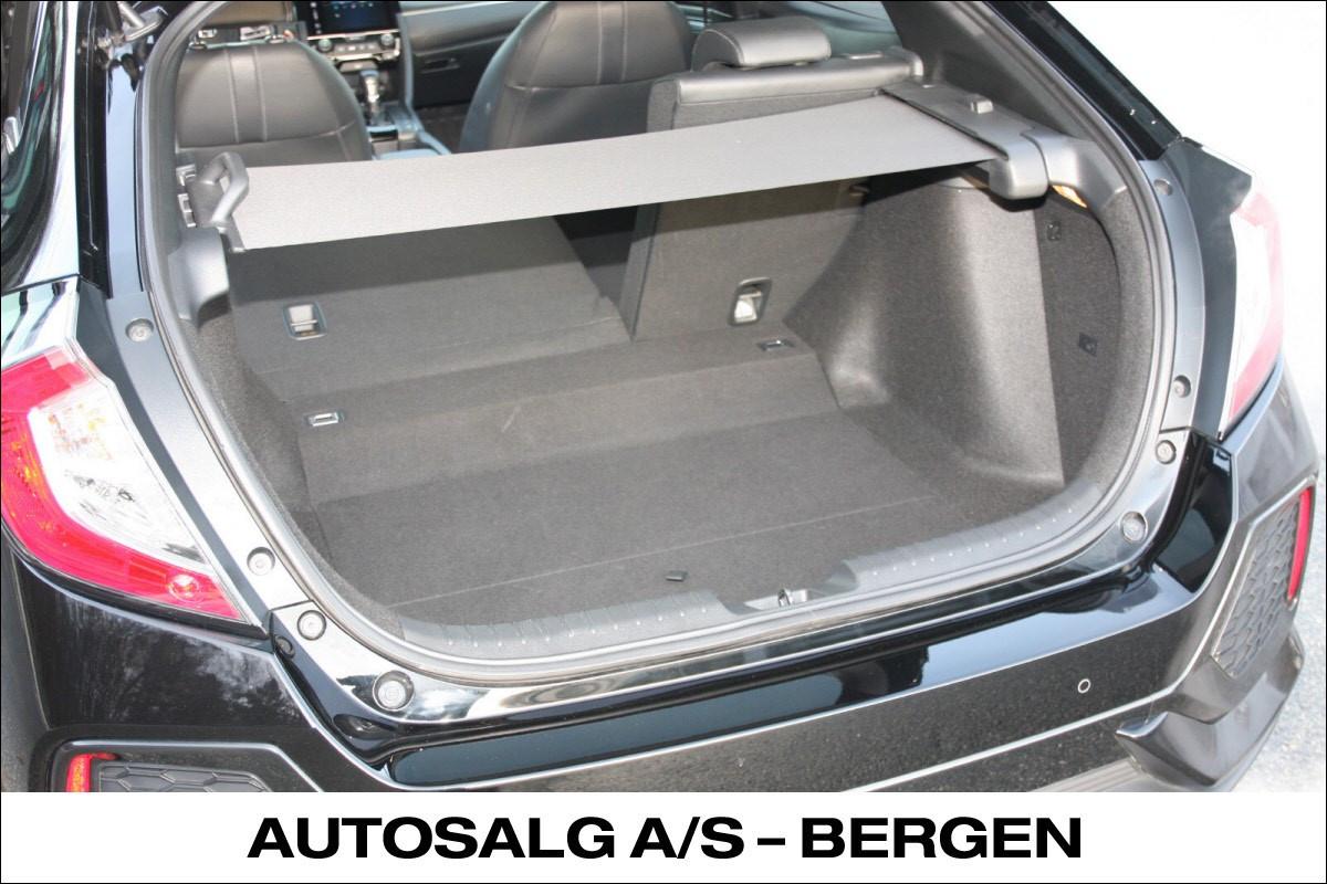 478 liter bagasjerom + 64 liter under-rom kapasitet