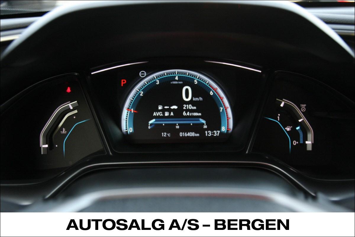 Trafikk skilt gjenkjenning, Low Speed following, Blind spot Inf inkl.Cross Traffic Monitor,Forward Collision Warning