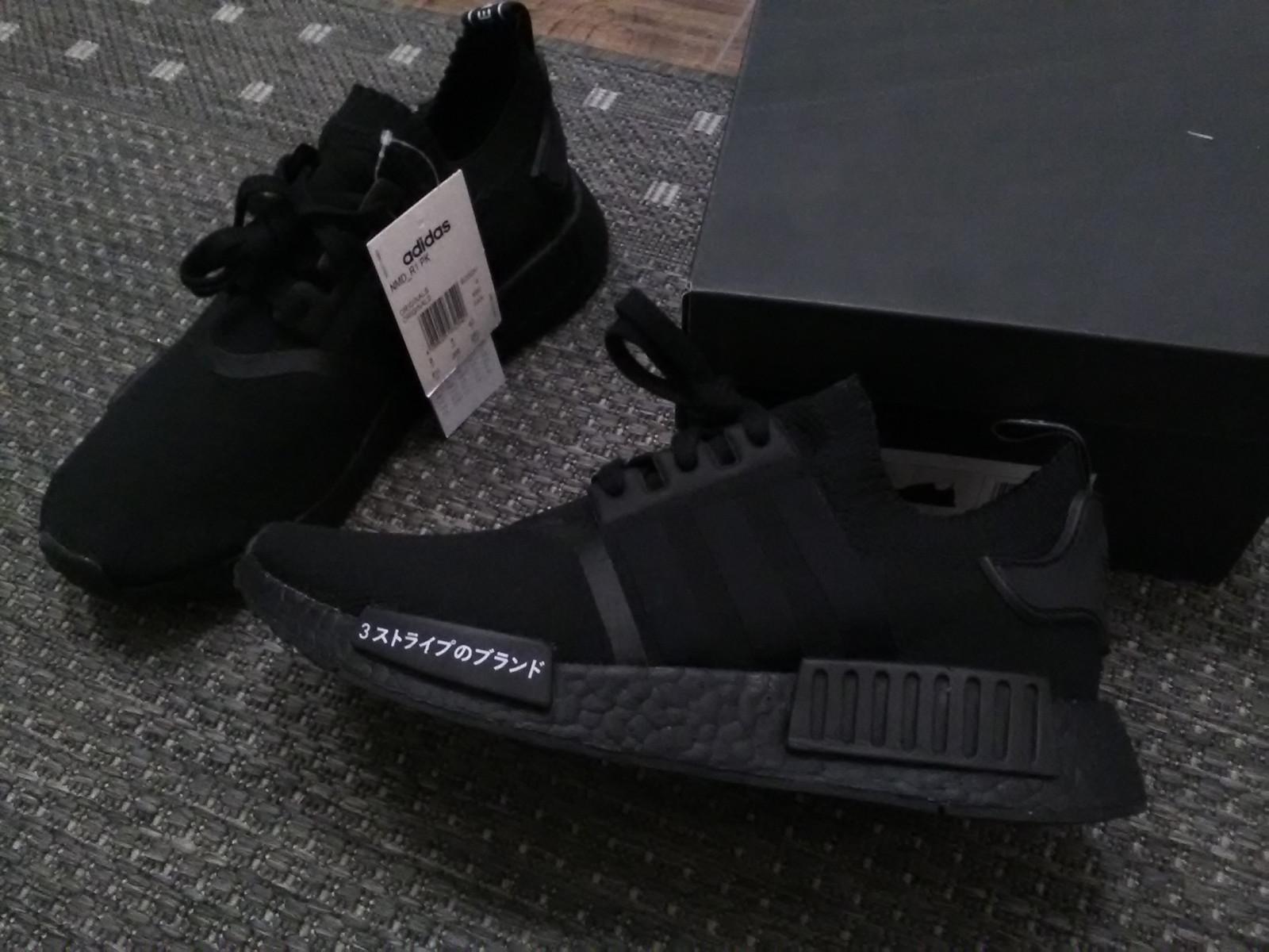 adidas nmd r1 pk japan triple svart