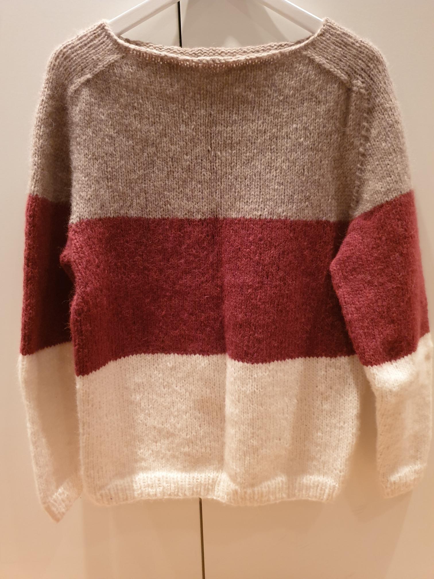 gratis oppskrift dans genser
