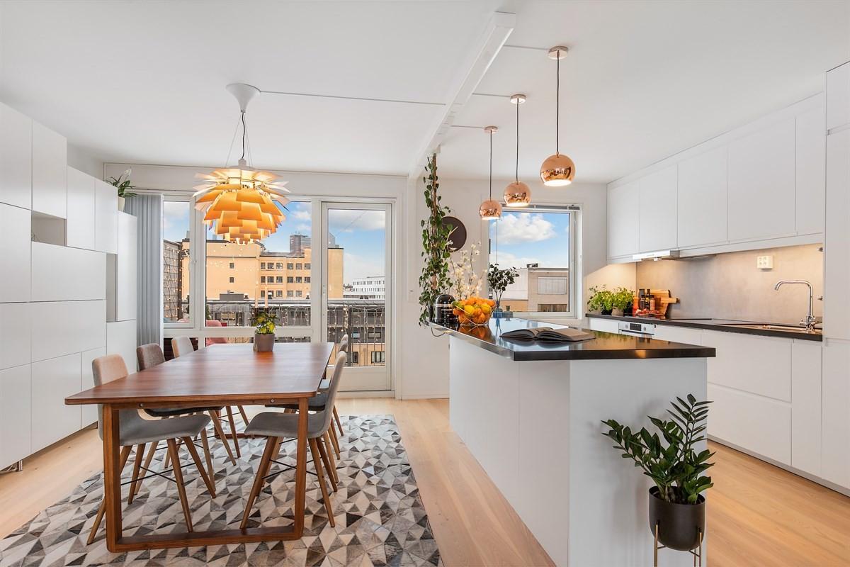Leilighet - Tøyen - oslo - 6 000 000,- - Schala & Partners