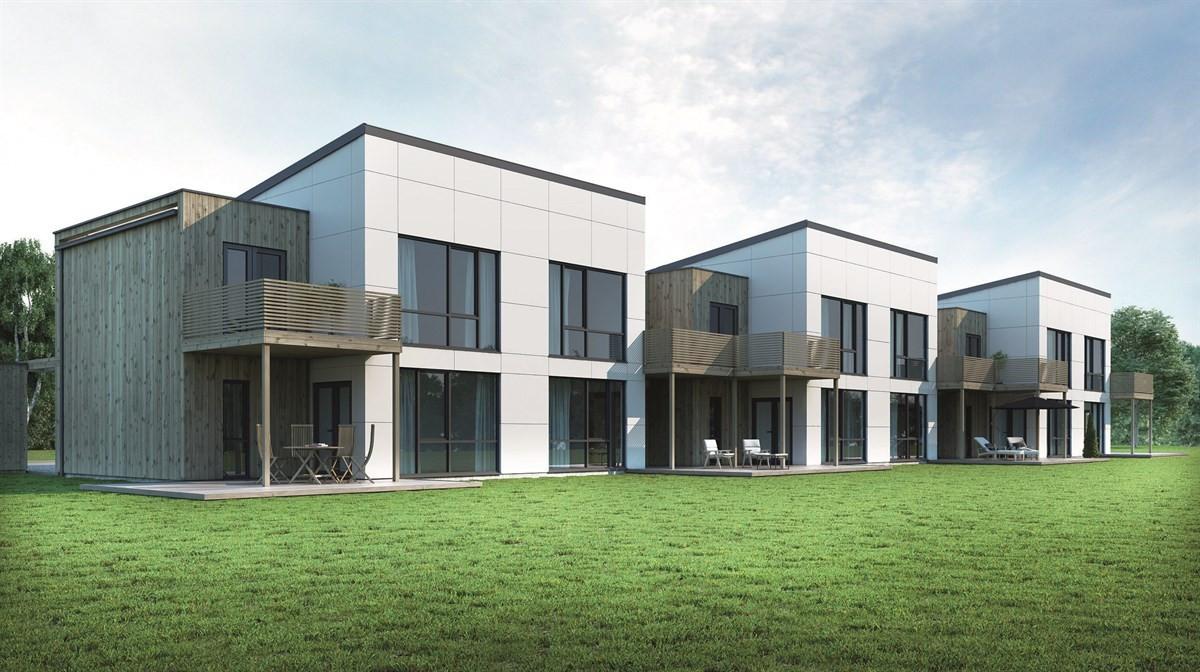 Rekkehus - fagerstrand - 4 750 000 til 4 950 000,- - Sydvendt & Partners