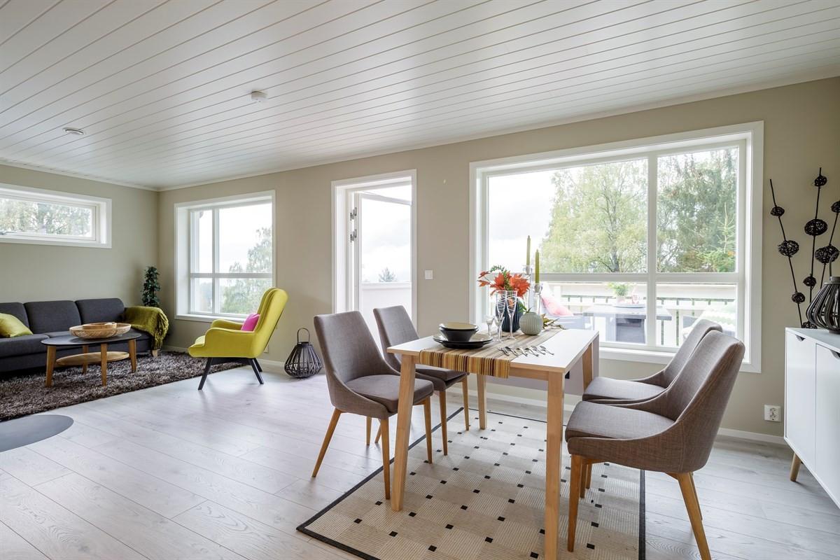 """4 nyoppførte leiligheter på """"Ølken"""" med praktisk planløsning."""