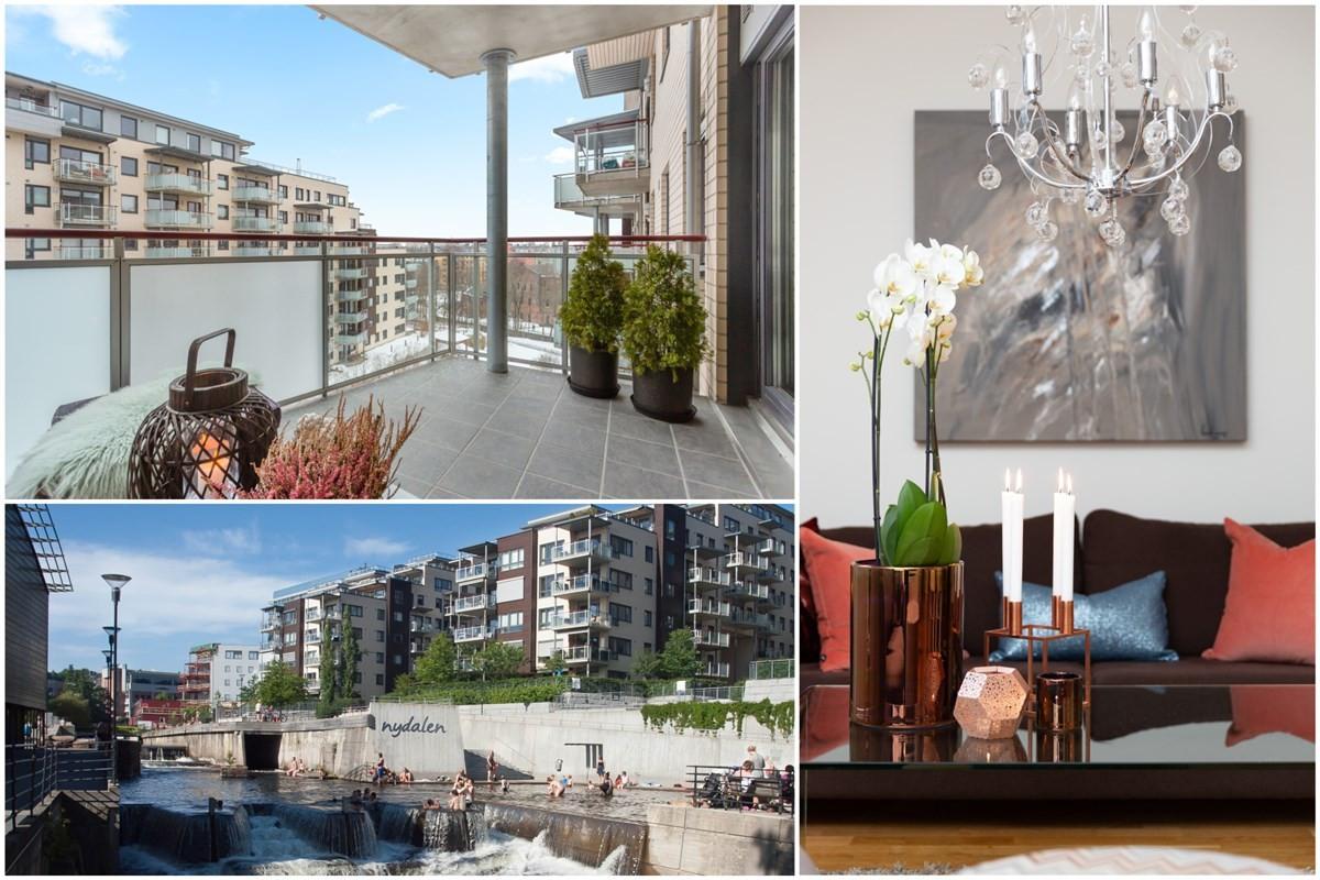 Leilighet - Solsiden i Nydalen - oslo - 5 700 000,- - Schala & Partners