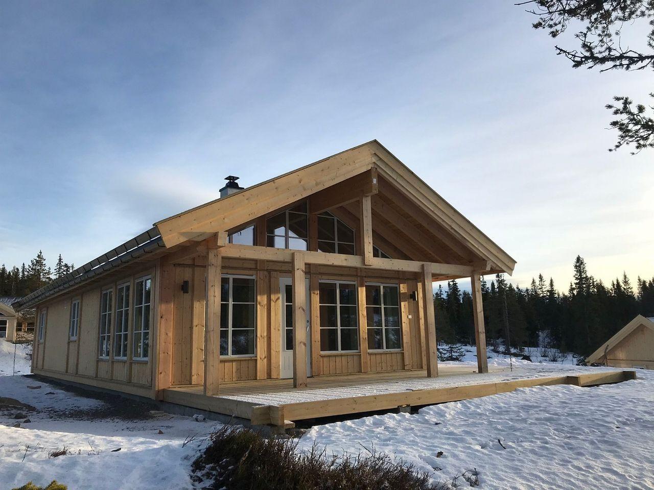 Buen modell BERGLIA      Fra en tilsvarende hytte - kundetilpasninger kan forekomme.