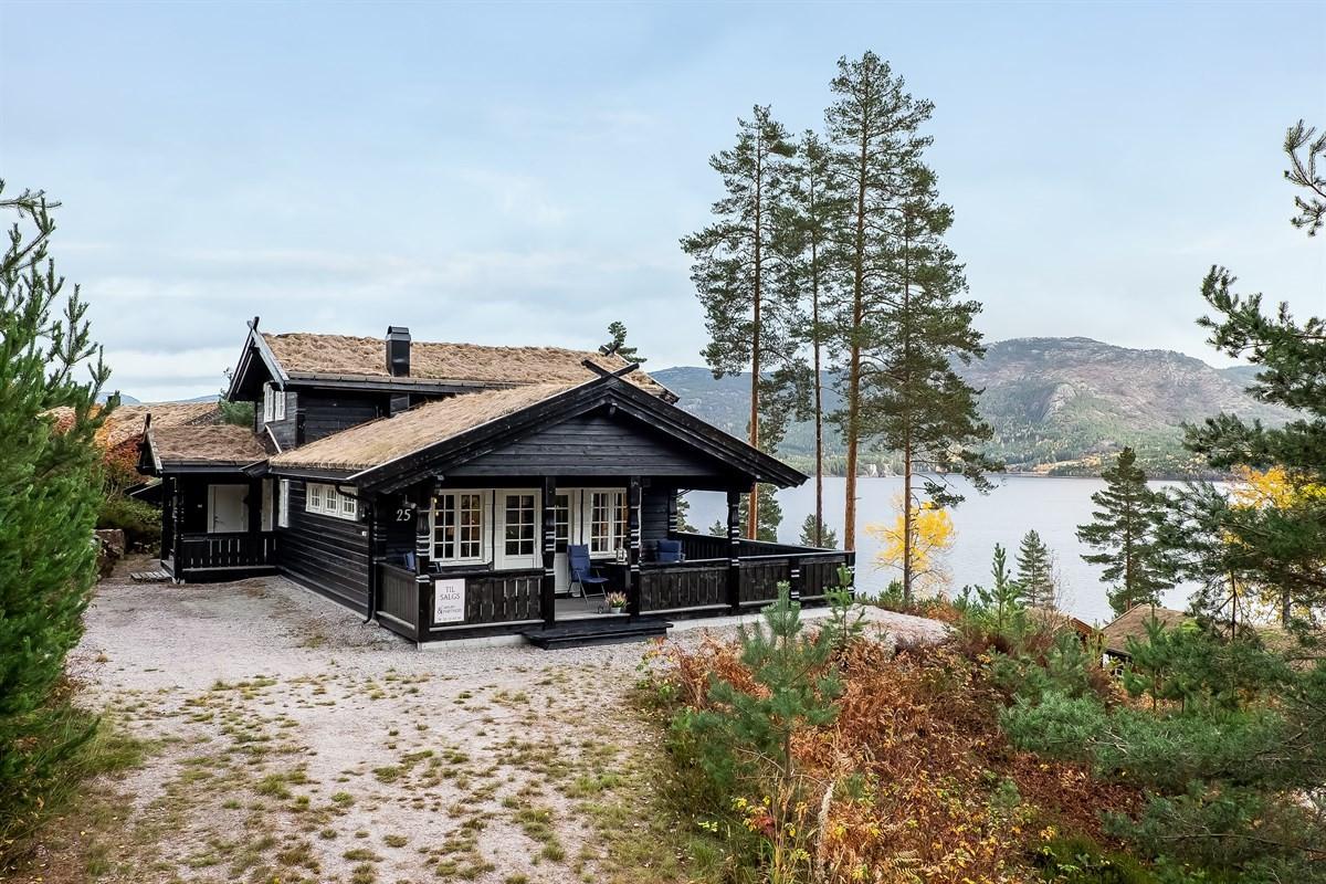 Hytte - Haukåsen Hyttegrend - treungen - 3 325 000,- - Leinæs & Partners