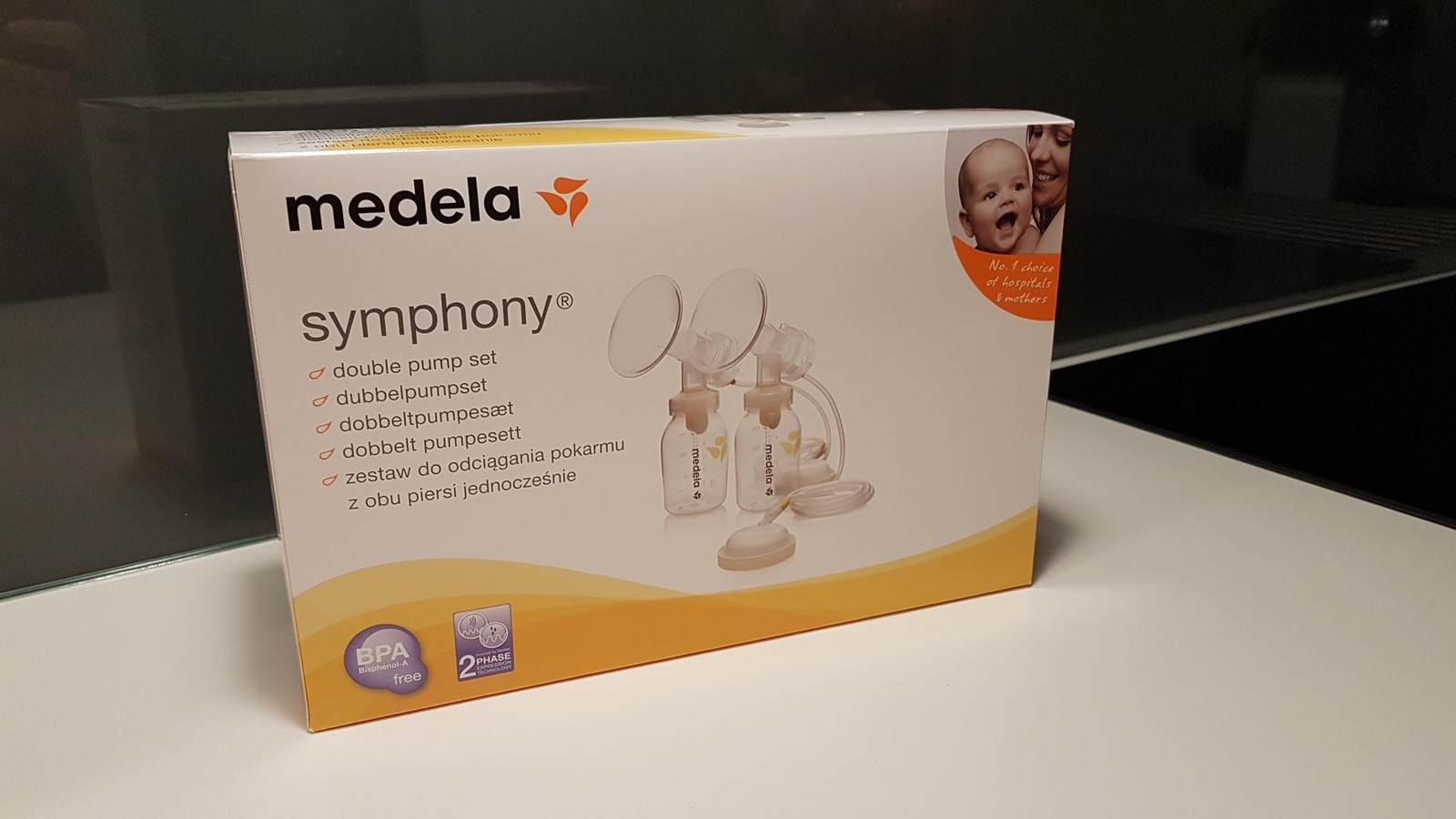 Medela Symphony dobbelt pumpesett  2720127fe314d