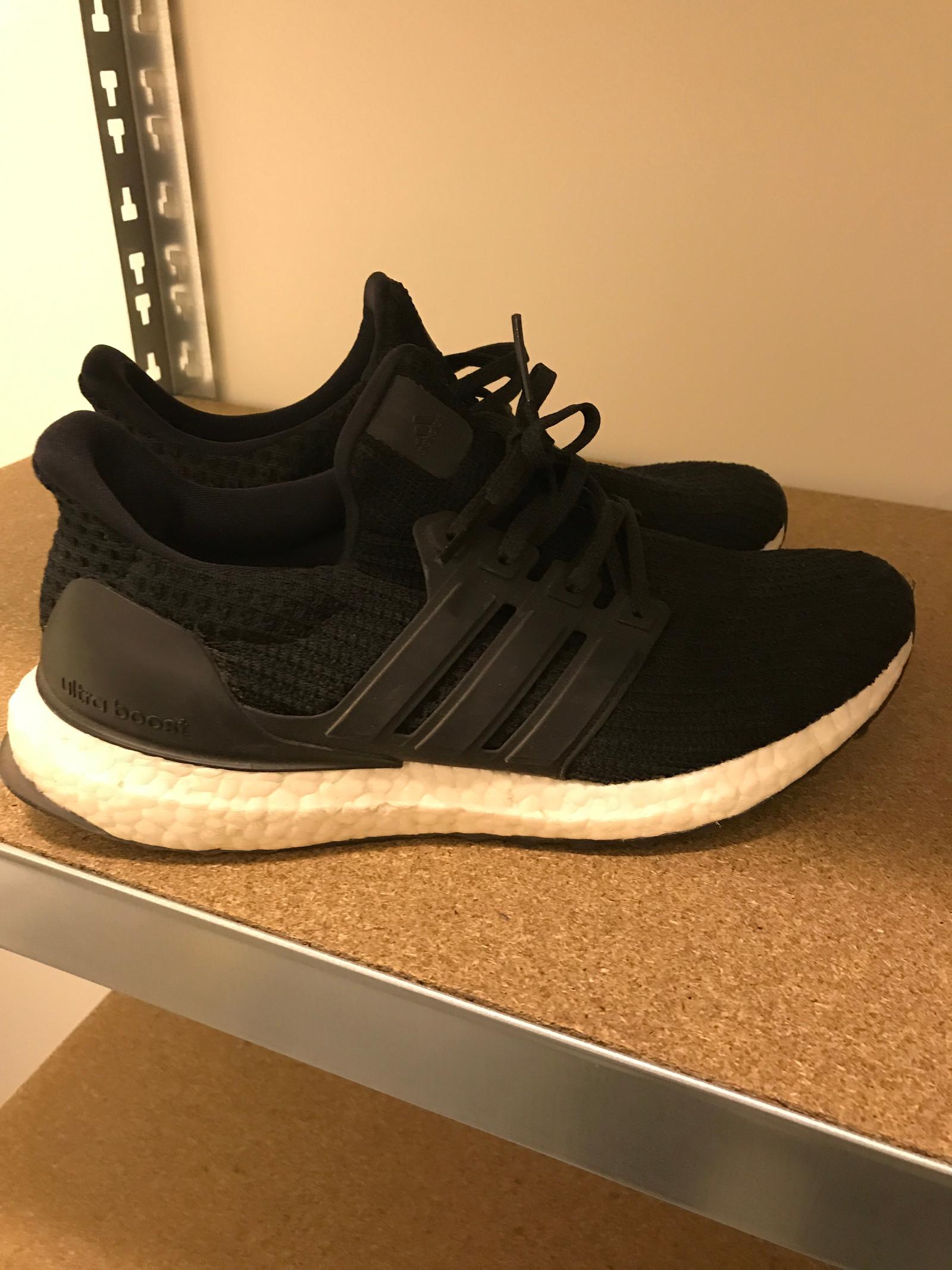 buy popular 3e552 ad80b 2 stk Adidas Ultraboost brukt 1 gang str 41,5  FINN.no