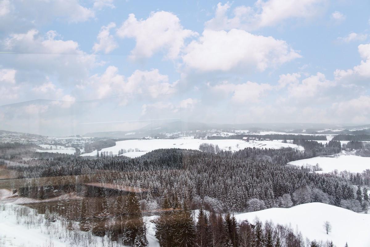 Utsikt fra kontorlokalet på 300 kvm