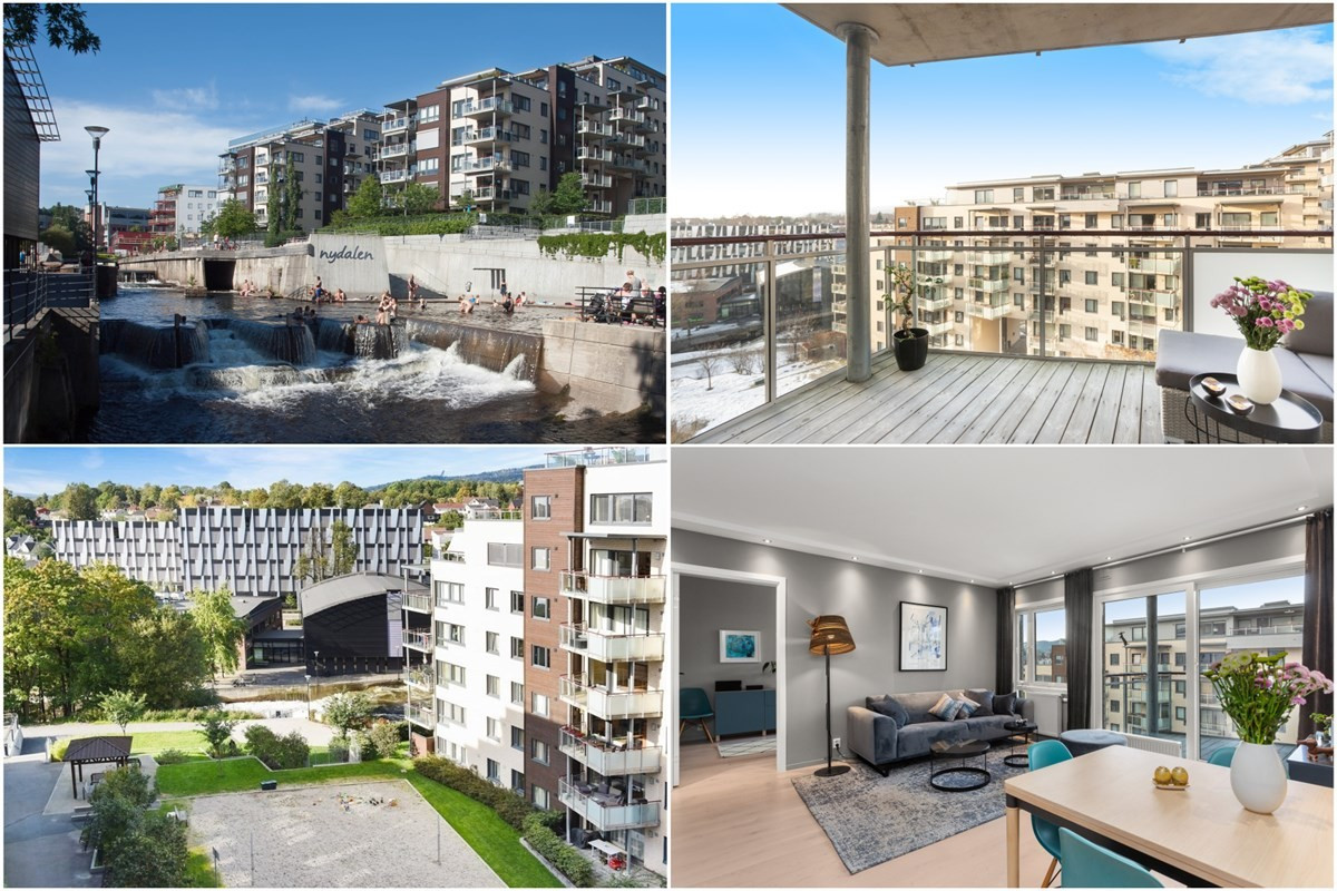 Leilighet - Solsiden i Nydalen - oslo - 6 000 000,- - Schala & Partners