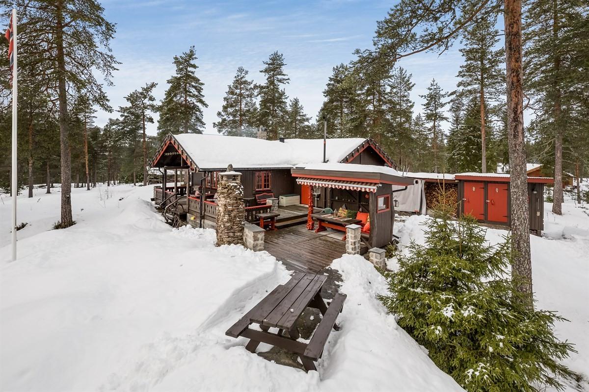 Hytte - Vanebu - siljan - 1 650 000,- - Leinæs & Partners
