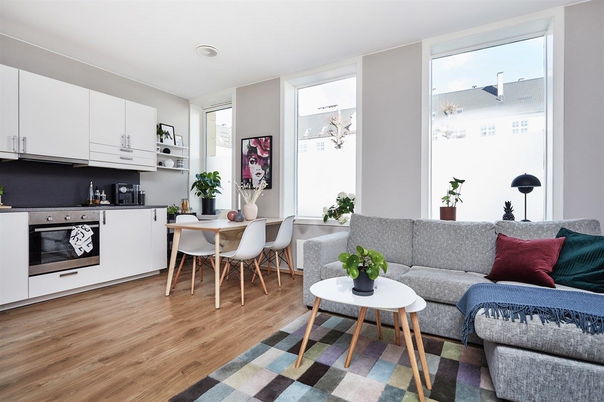 Leilighet - Grünerløkka / Rosenhoff - oslo - 3 100 000,- - Schala & Partners