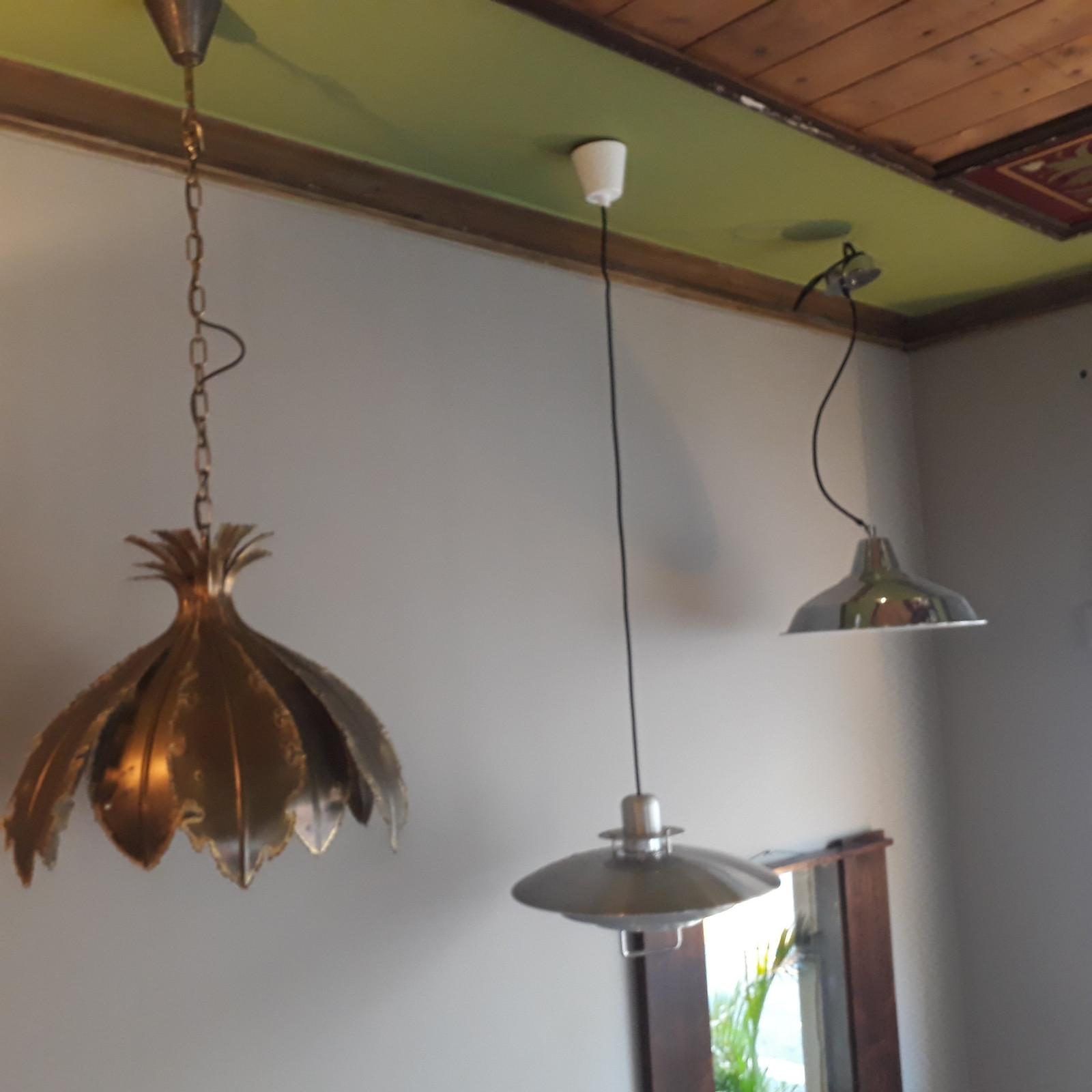 gamle lamper med rådyr