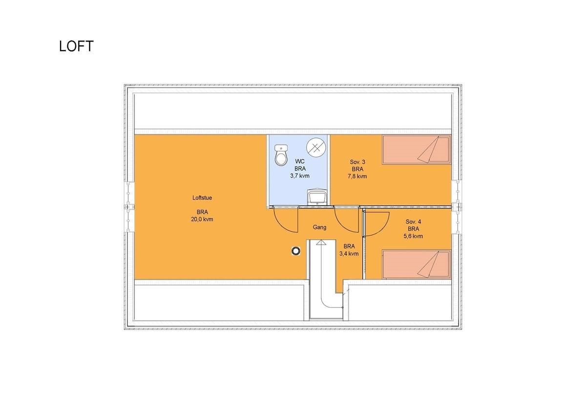 0faac11b Drømmer du om en helt nybygd hytte med gangavstand til sentrum? Se denne  flotte hytta med 4 soverom og 2 stuer i Håneset - Heimdal Eiendomsmegling