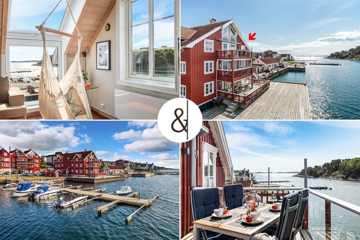 Leilighet - Rekkevik Brygge - larvik - 6 690 000,- - Leinæs & Partners