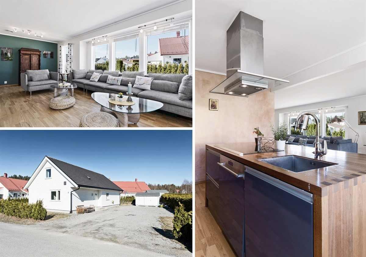 Enebolig - vikersund - 3 790 000,- - Meglerhuset & Partners