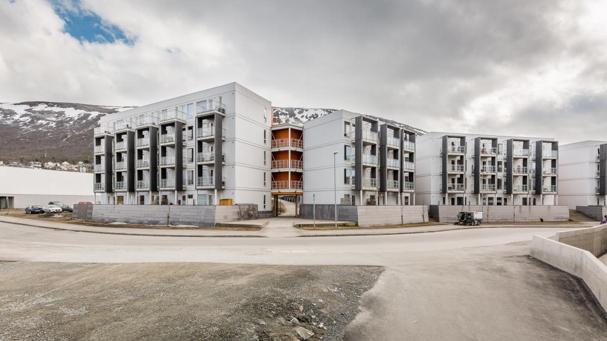 3-roms leilighet med vestvendt beliggenhet