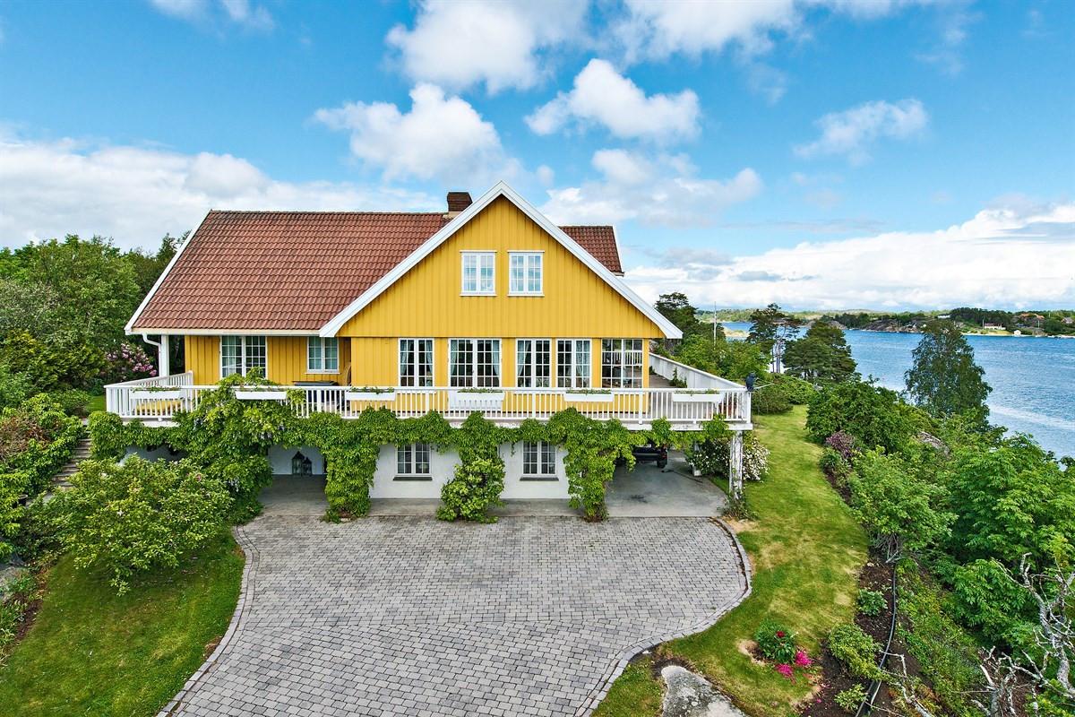 Enebolig - hvasser - 13 900 000,- - Bakke Sørvik & Partners