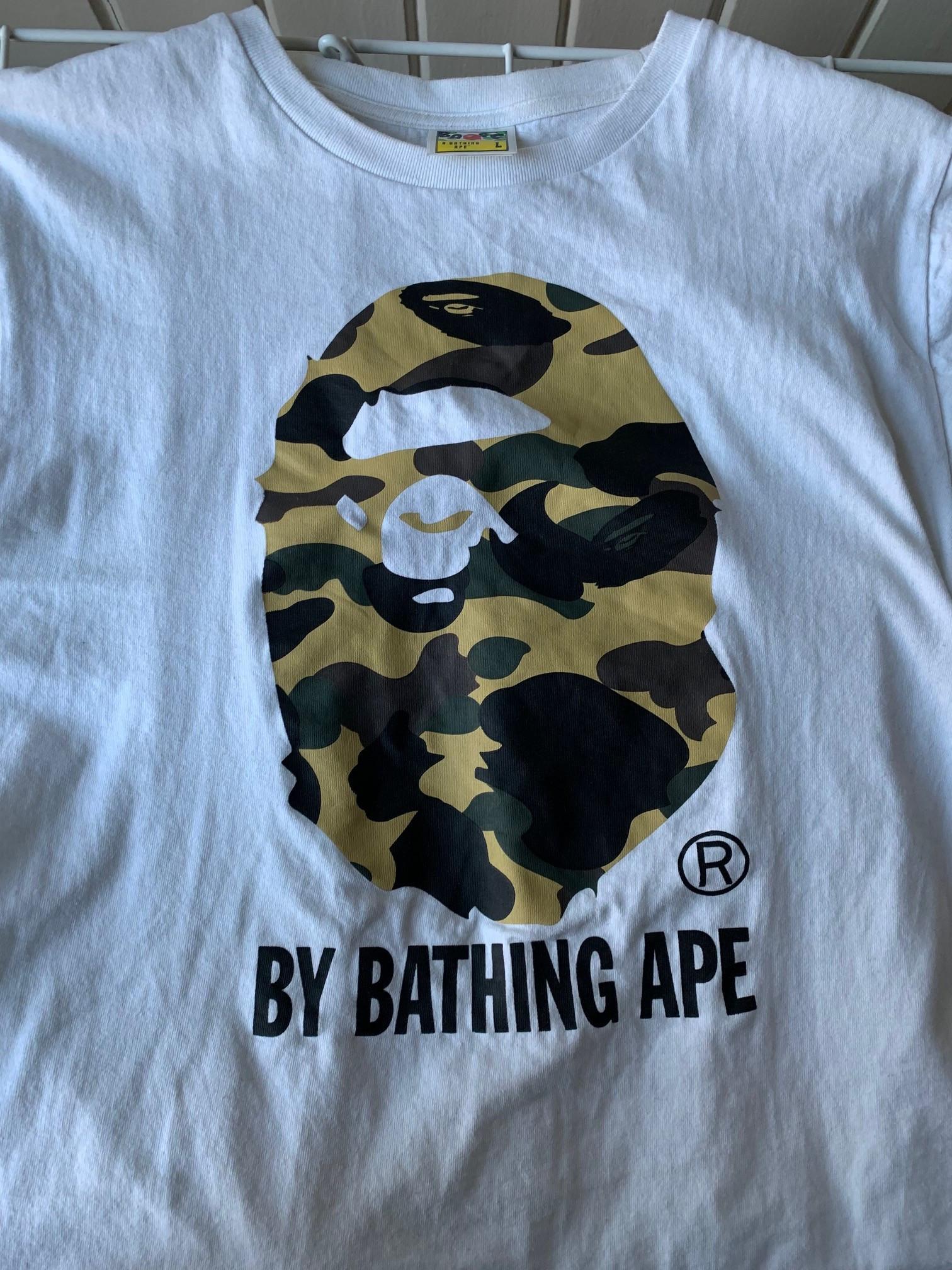 8c65dc67c8f Bape T-skjorte (L) | FINN.no