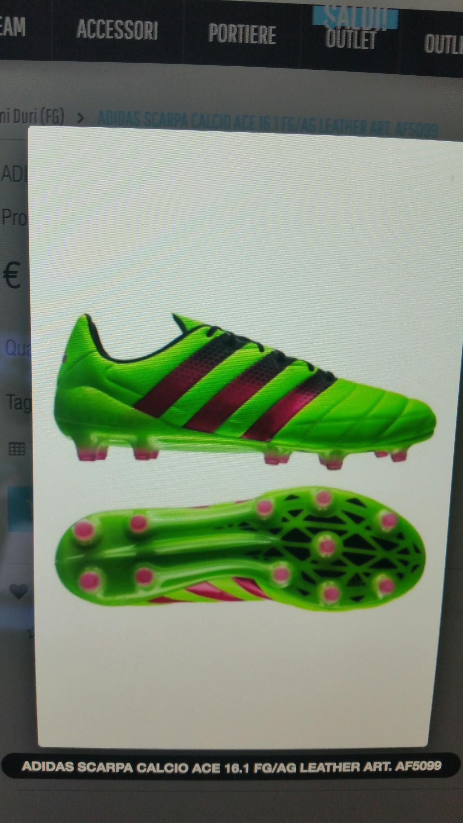 finest selection 7793e ca7cf Adidas Scarpa Calcio Ace leather, så å si NYE   FINN.no