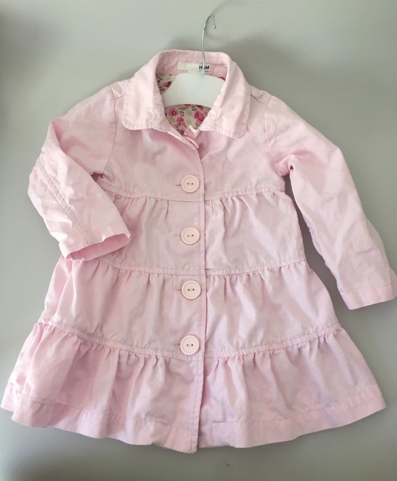 a27269c5 Søt sommerkåpe til jente fra H&M i rosa bomull Str. 1,5 - 2 år   FINN.no