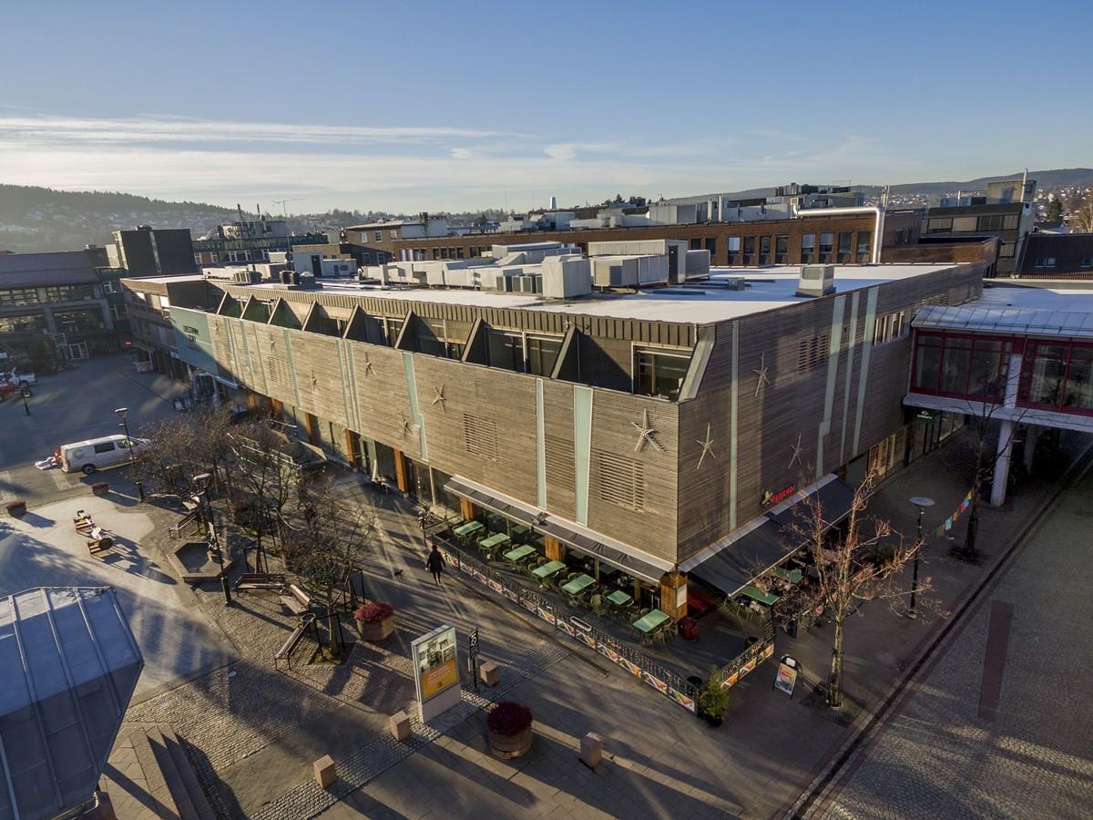 Lillestrøm Torv - et hyggelig bysenter med over 60 butikker