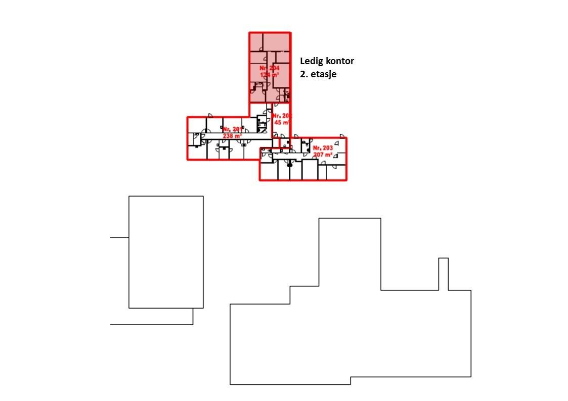 Planskisse 2.- etasje
