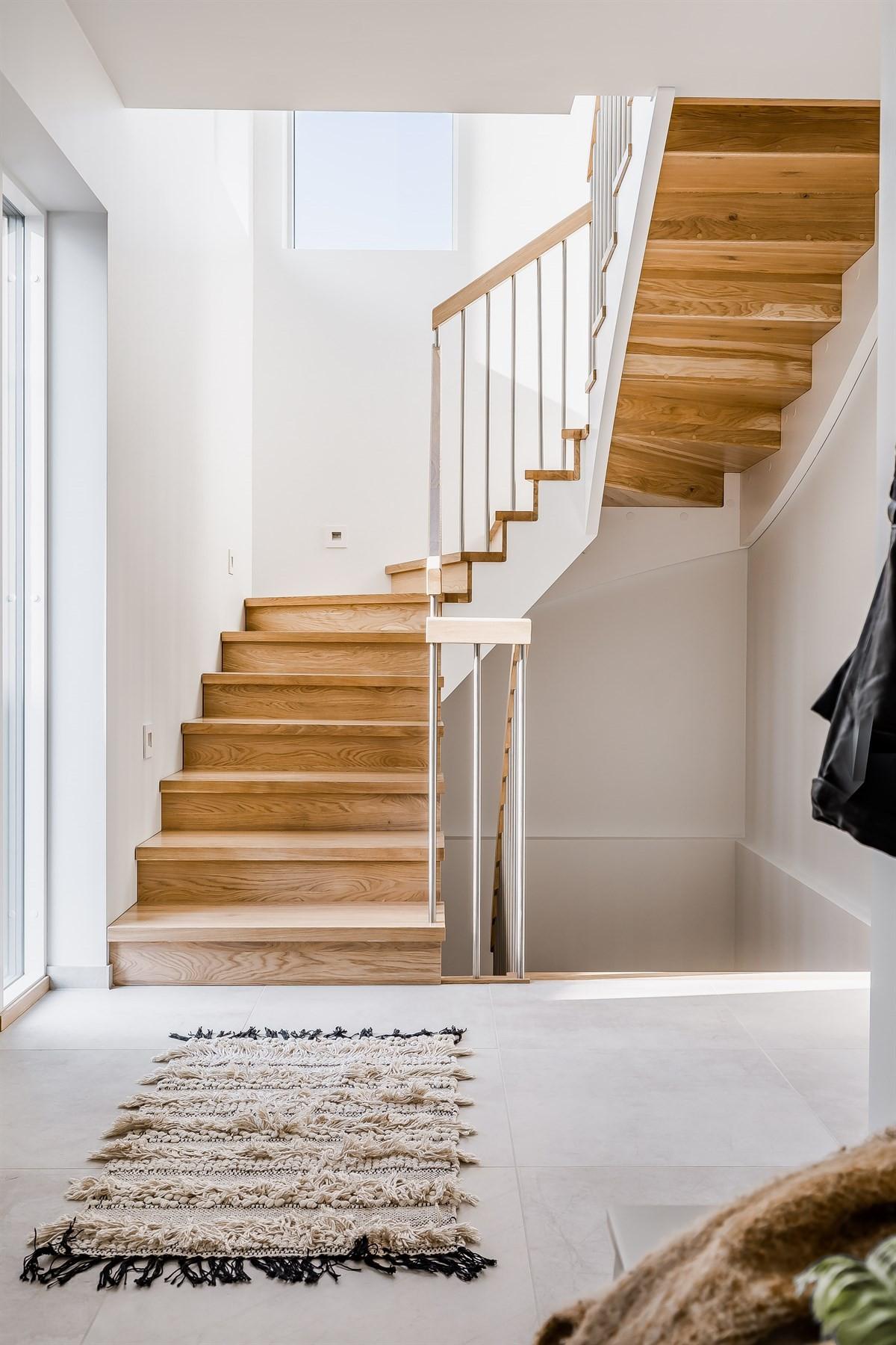 Trapp som tar deg mellom etasjene