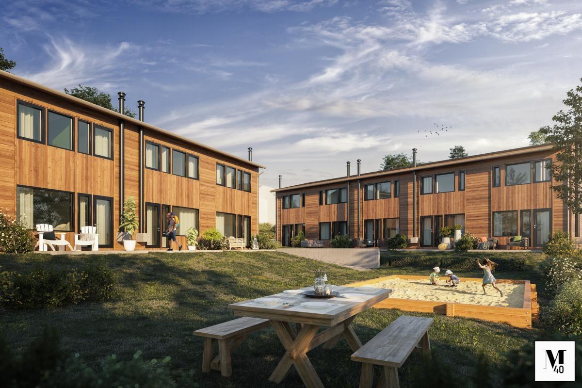 Rekkehus - fjellstrand - 3 200 000 til 3 700 000,- - Sydvendt & Partners
