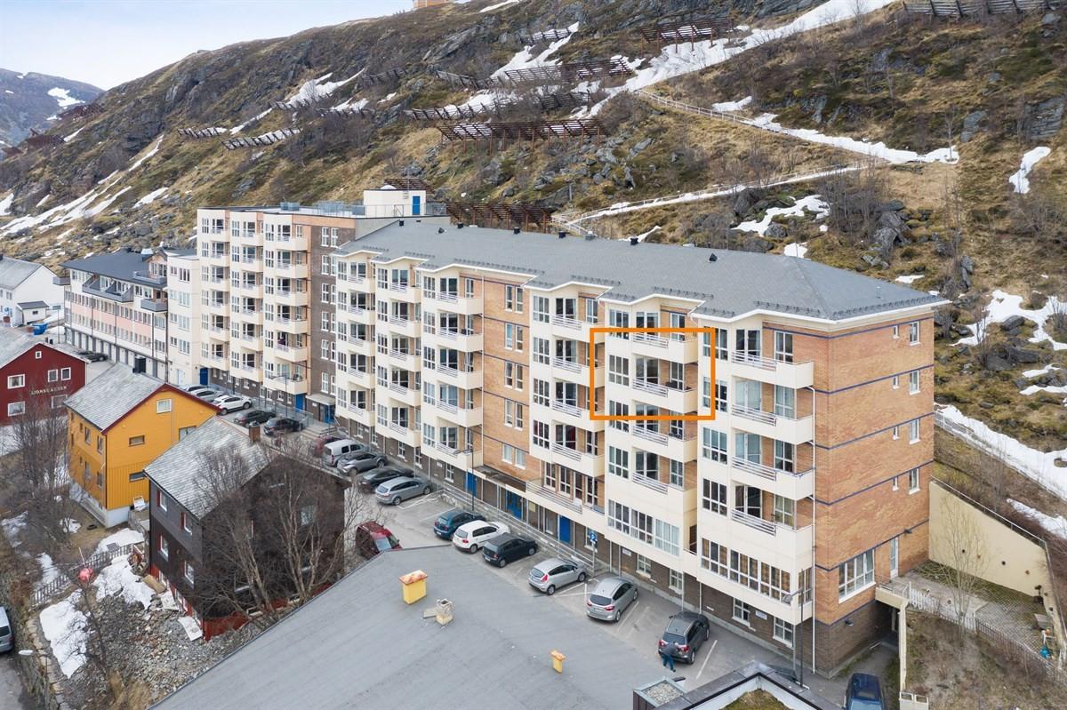 Maiken B. Paulsen v/Privatmegleren har gleden av å presentere Salsgata 39, leilighet 505.