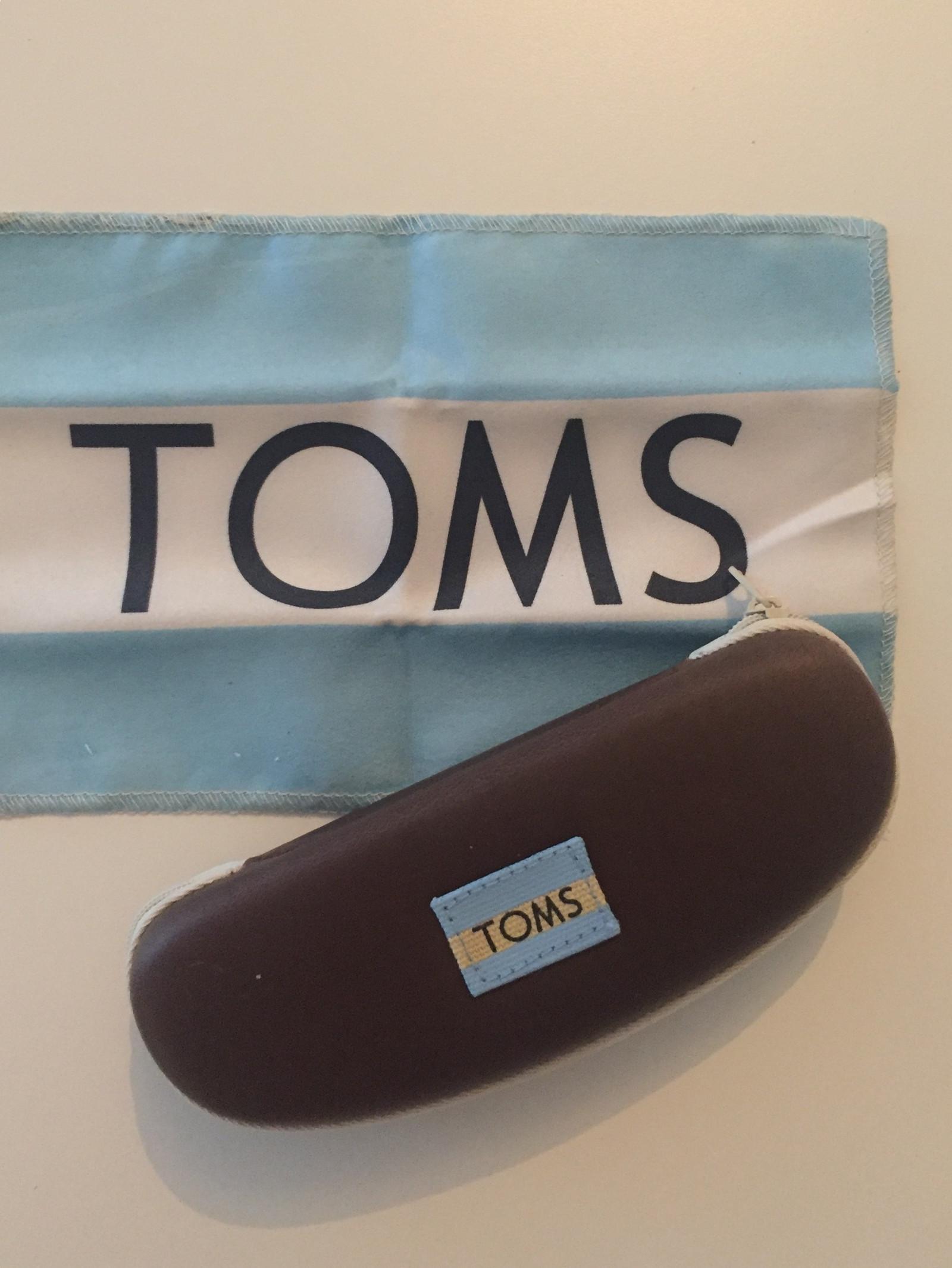 Helt nye Toms solbriller
