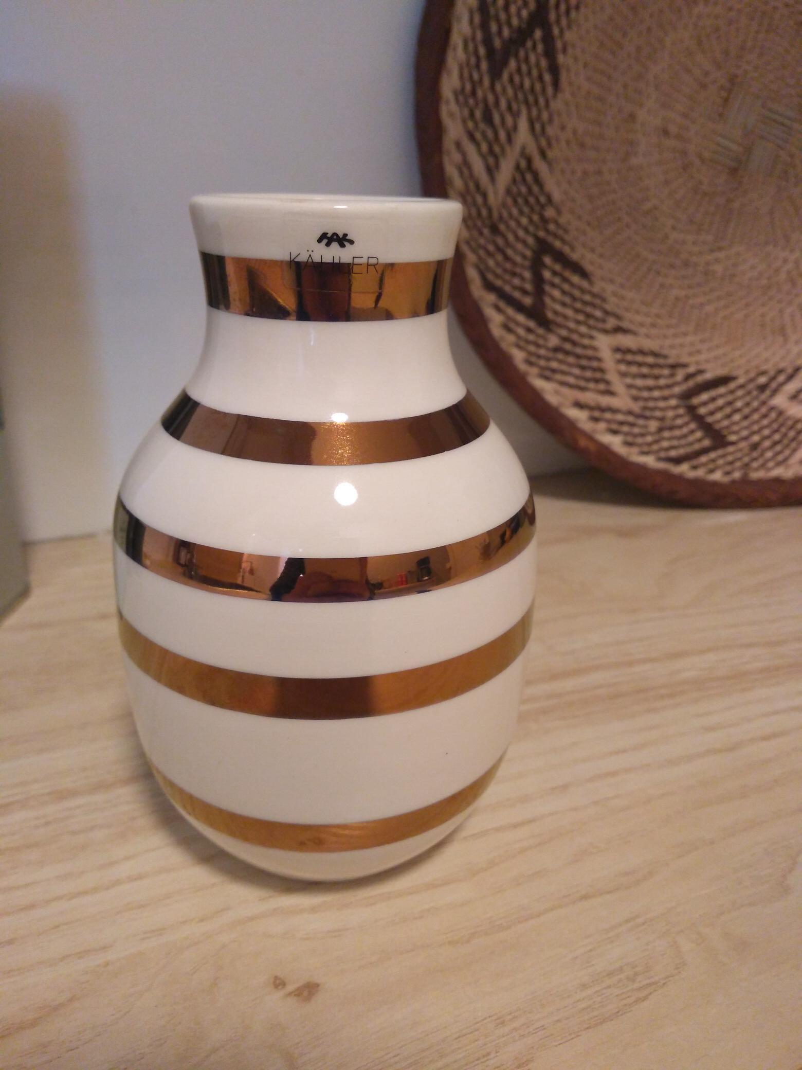 kahler kobber vase