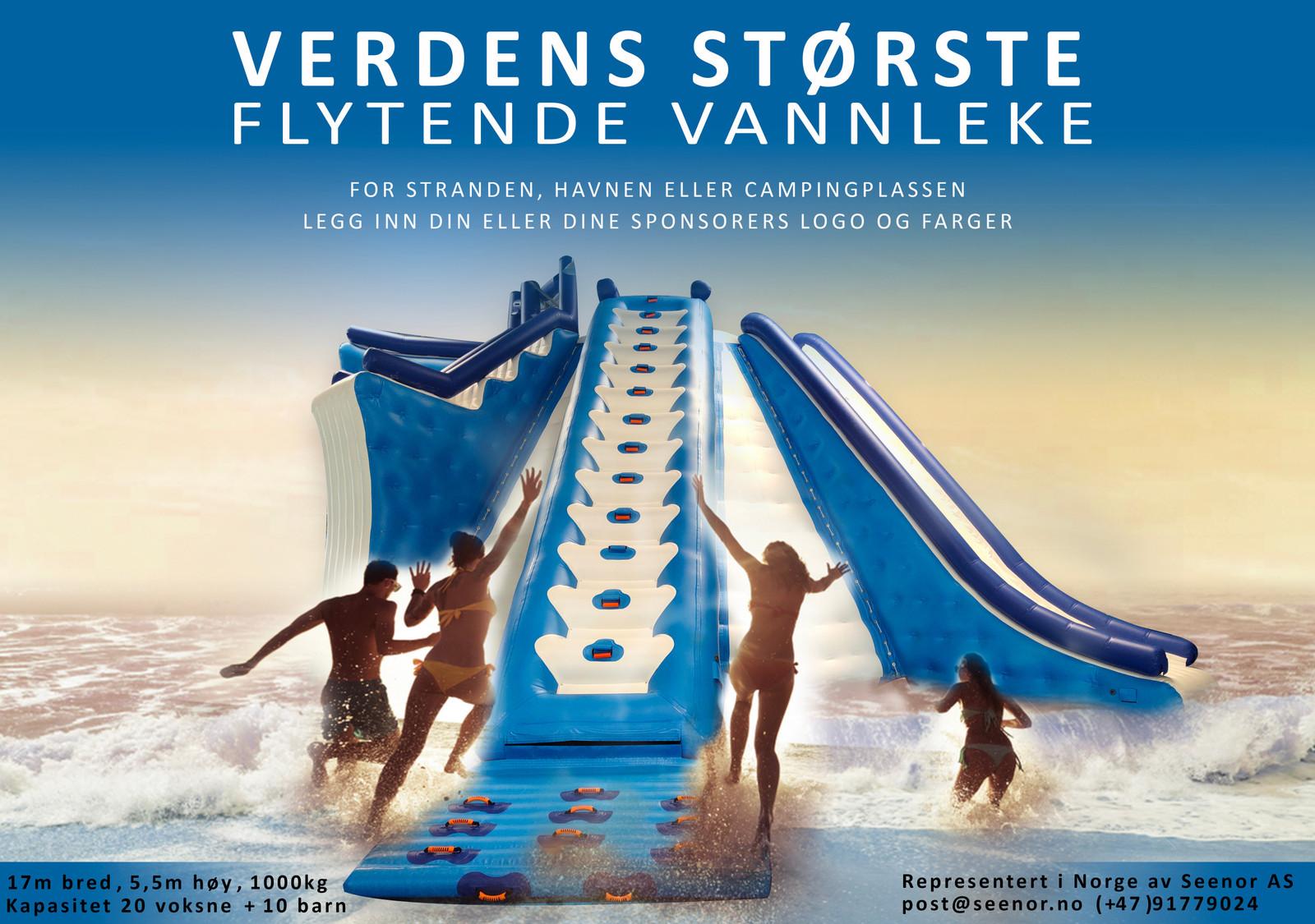 10099c3c Flytende vannsklie - verdens største! | FINN.no