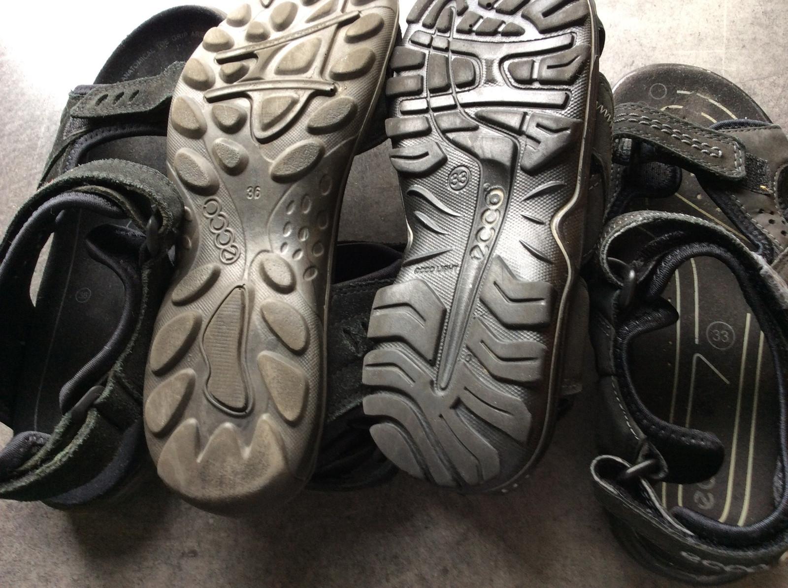 5de5bd989eb Ecco sandaler Str 33 og 36 sort. | FINN.no