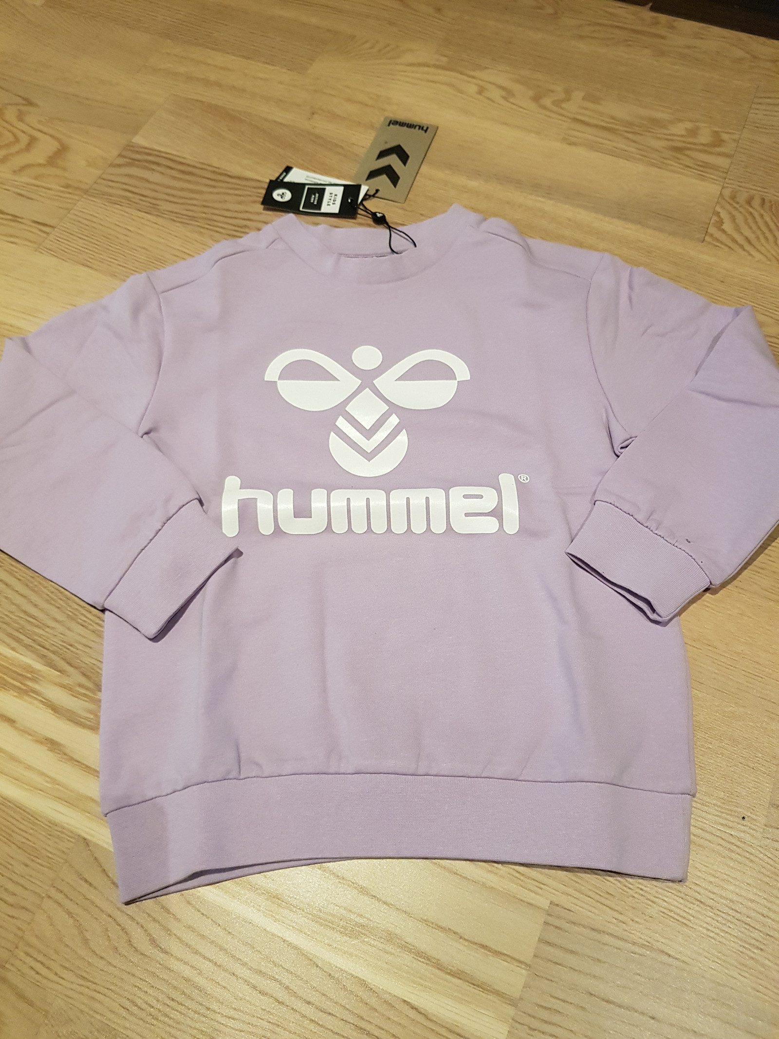 649e416624b Hummel Dos Sweatshirt Youth Lilla Ny | FINN.no