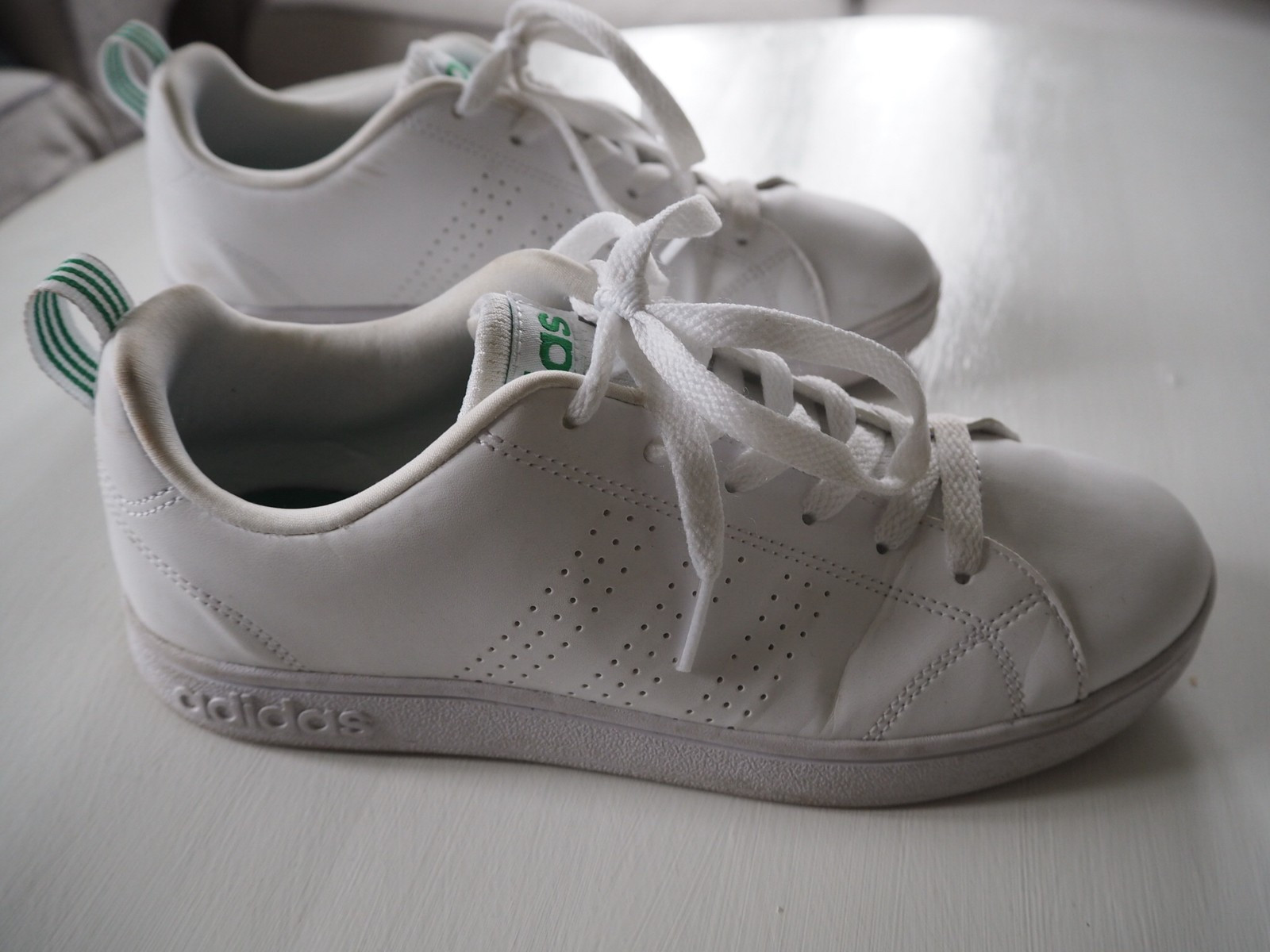 NYE Neo Label X Adidas sko med leopardprint | FINN.no