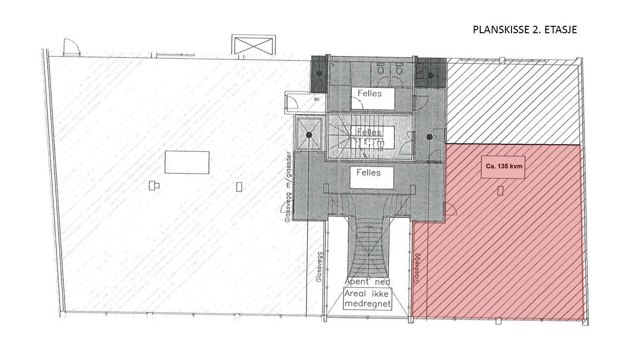 Planskisse 2 etasje