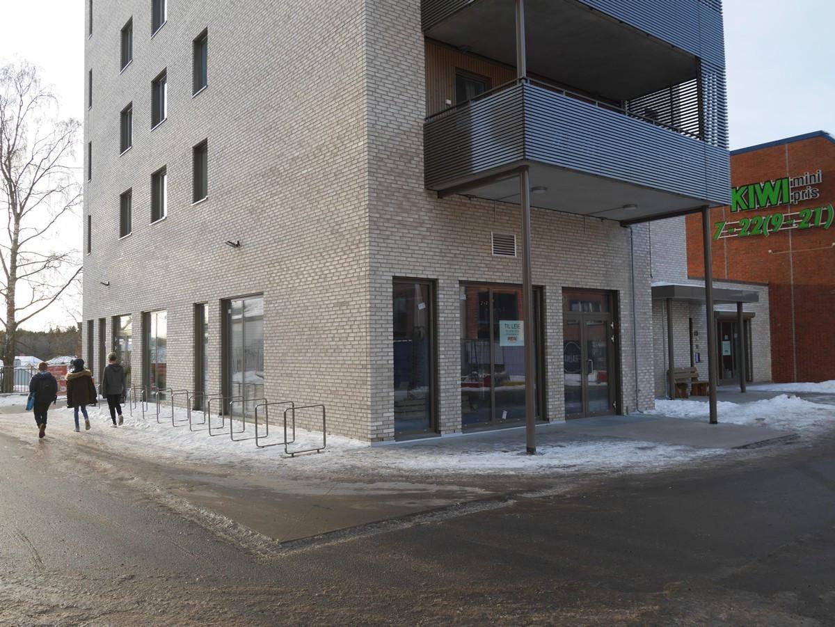Fasade D-bygget
