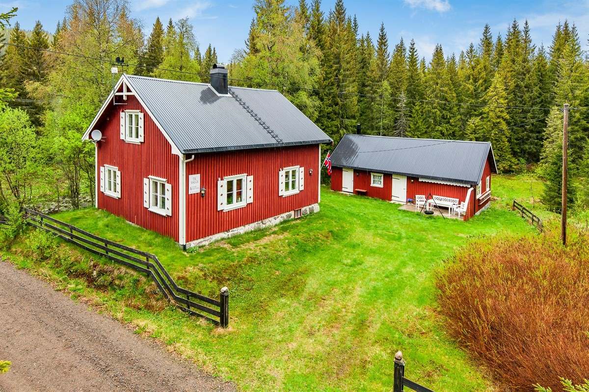 Hytte - siljan - 1 290 000,- - Leinæs & Partners
